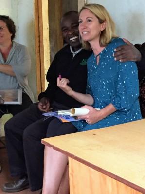 Joseph Matara and Karen Wright visit Kisii, Kenya