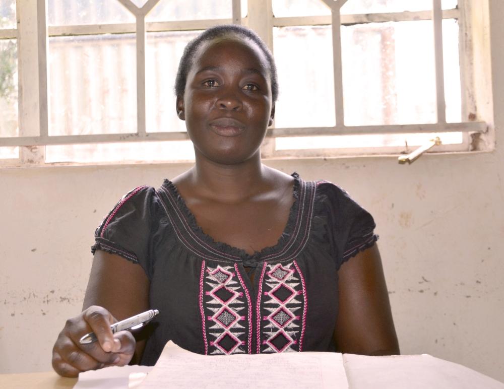 Grace Project Teacher Leonidah Keburo